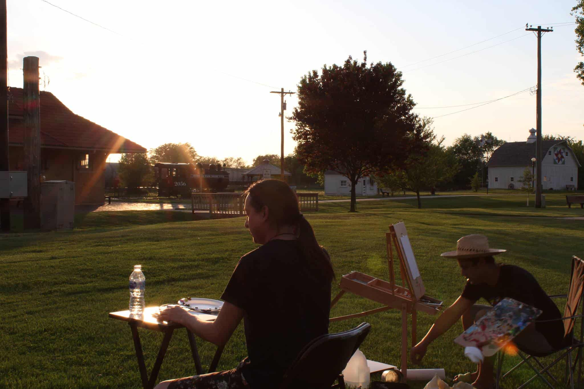 West Liberty Area Arts Council Plein Air 2020